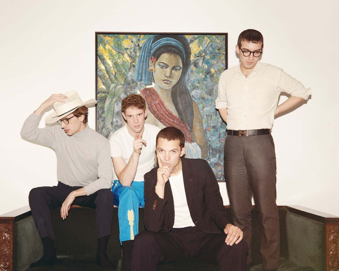 Spector are back! Listen to 'Untitled in D'