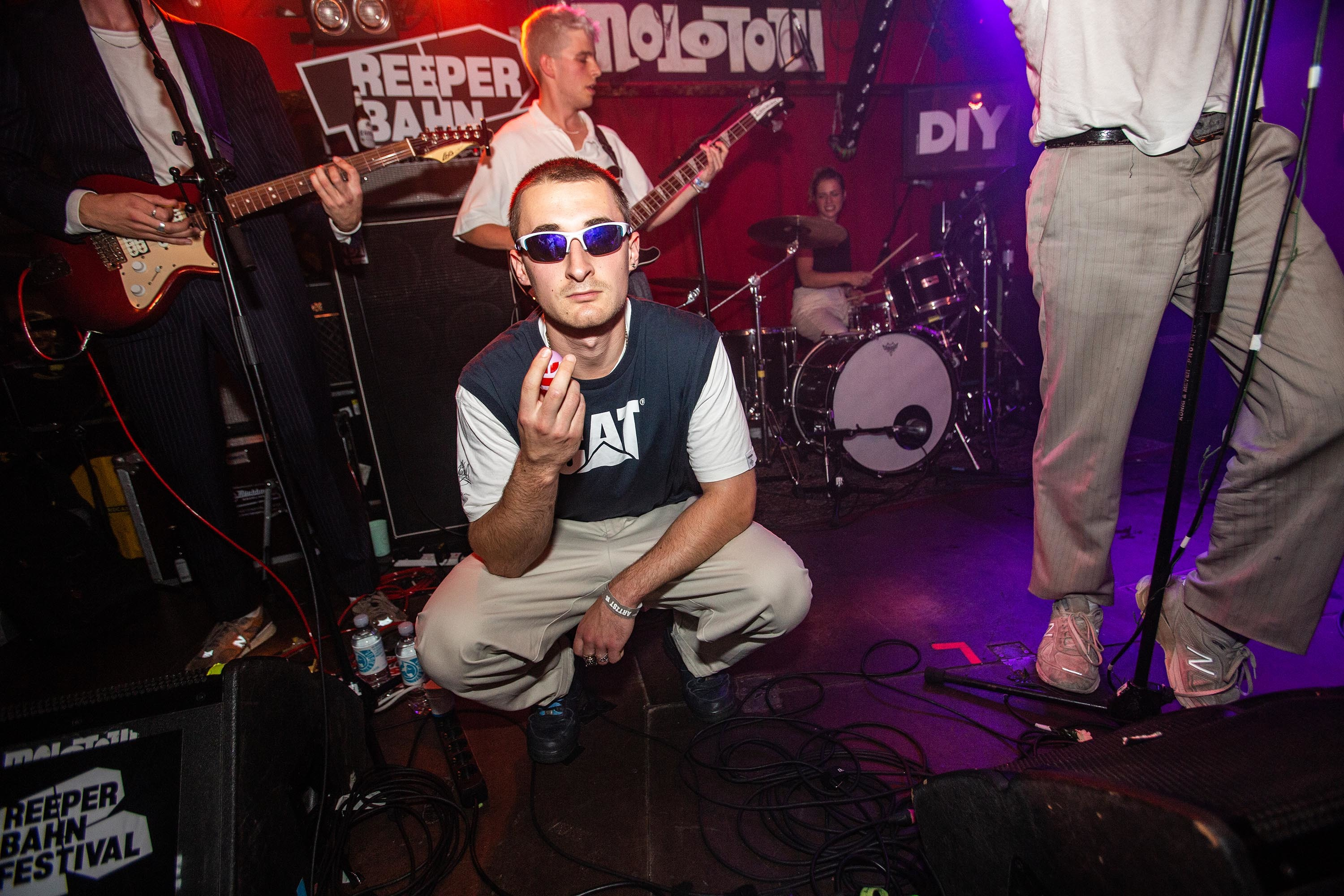 Sports Team close out Reeperbahn 2019 with a high octane set on the DIY Stage