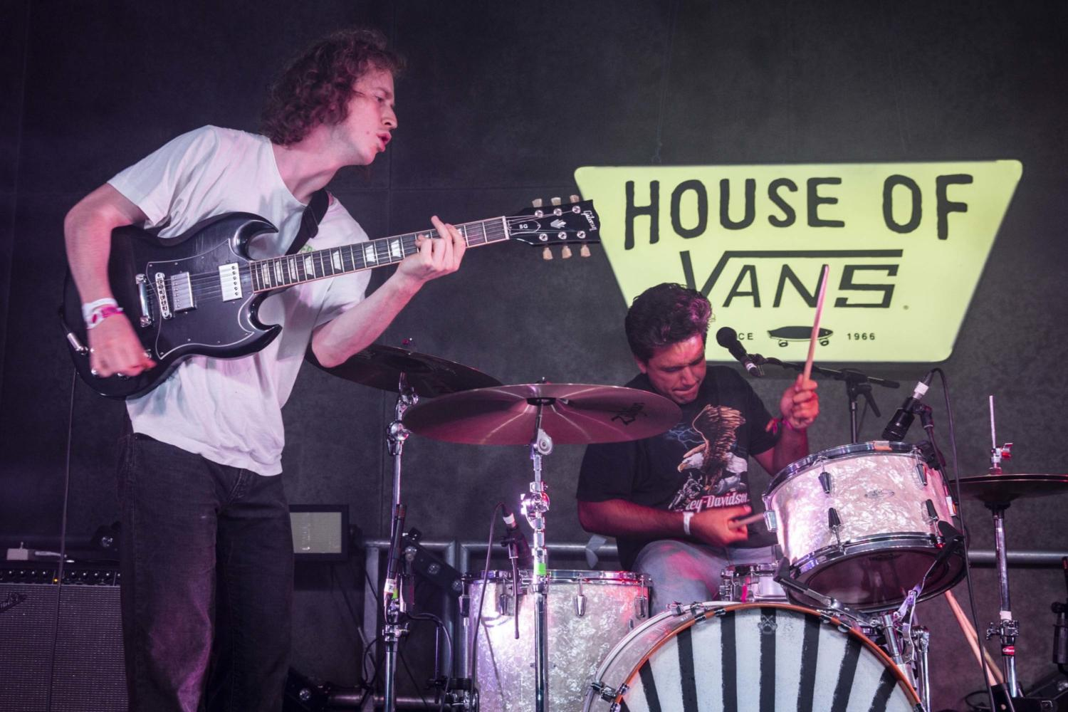 Spring King close Bestival 2018 with a riotous set on the DIY stage at House Of Vans