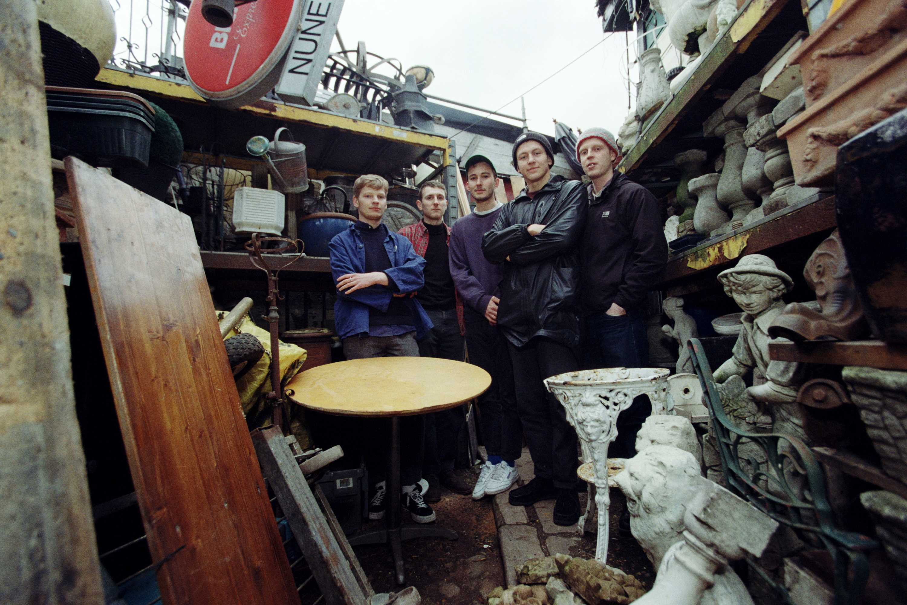 Turning up the dial on Squid, the Brighton bunch making mind-melting post-punk to rattle your bones