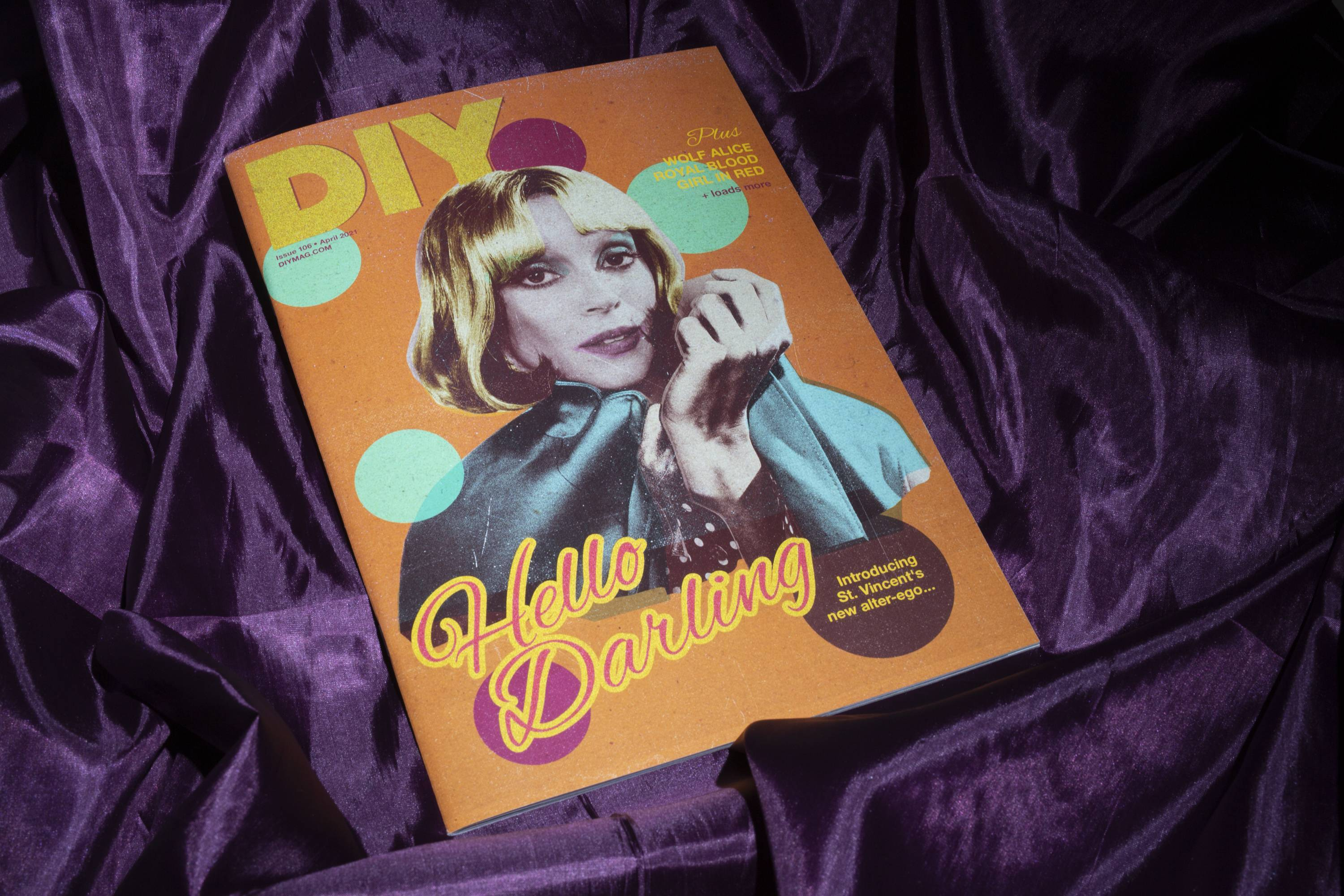 DIY's April 2021 issue - feat. St. Vincent, Royal Blood, Wolf Alice & more - is out now!