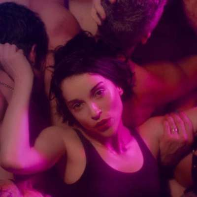 Things get steamy in St Vincent's brilliant new 'Fast Slow Disco' video