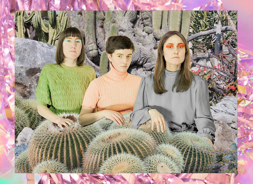 Stealing Sheep share surreal video for 'Deadlock'