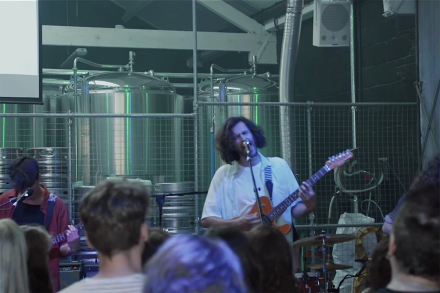 Watch Superego's new video for 'Sleep', filmed at their Big Indie Big Nights show
