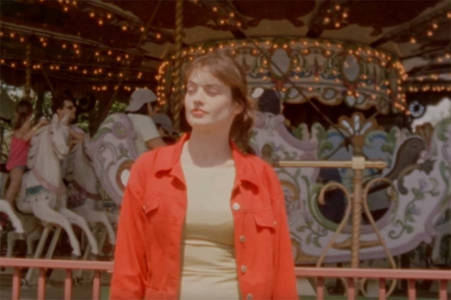 TOPS head to the funfair in the video for 'Marigold & Gray'
