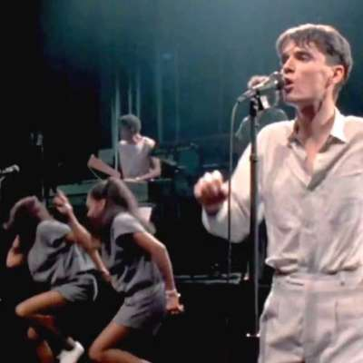 Watch a Talking Heads concert recorded in the '80s