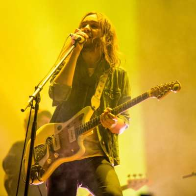 Watch Lady Gaga join Tame Impala on stage at FYF Fest