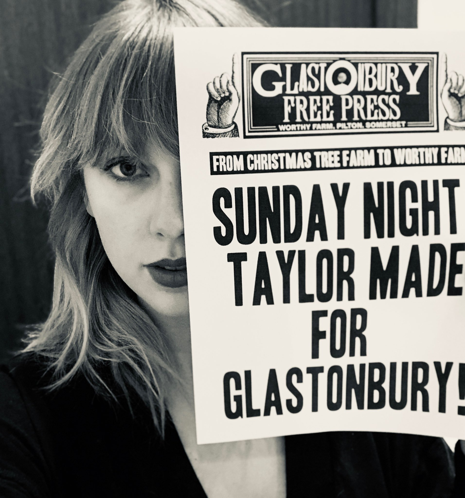Taylor Swift to headline Glastonbury 2020