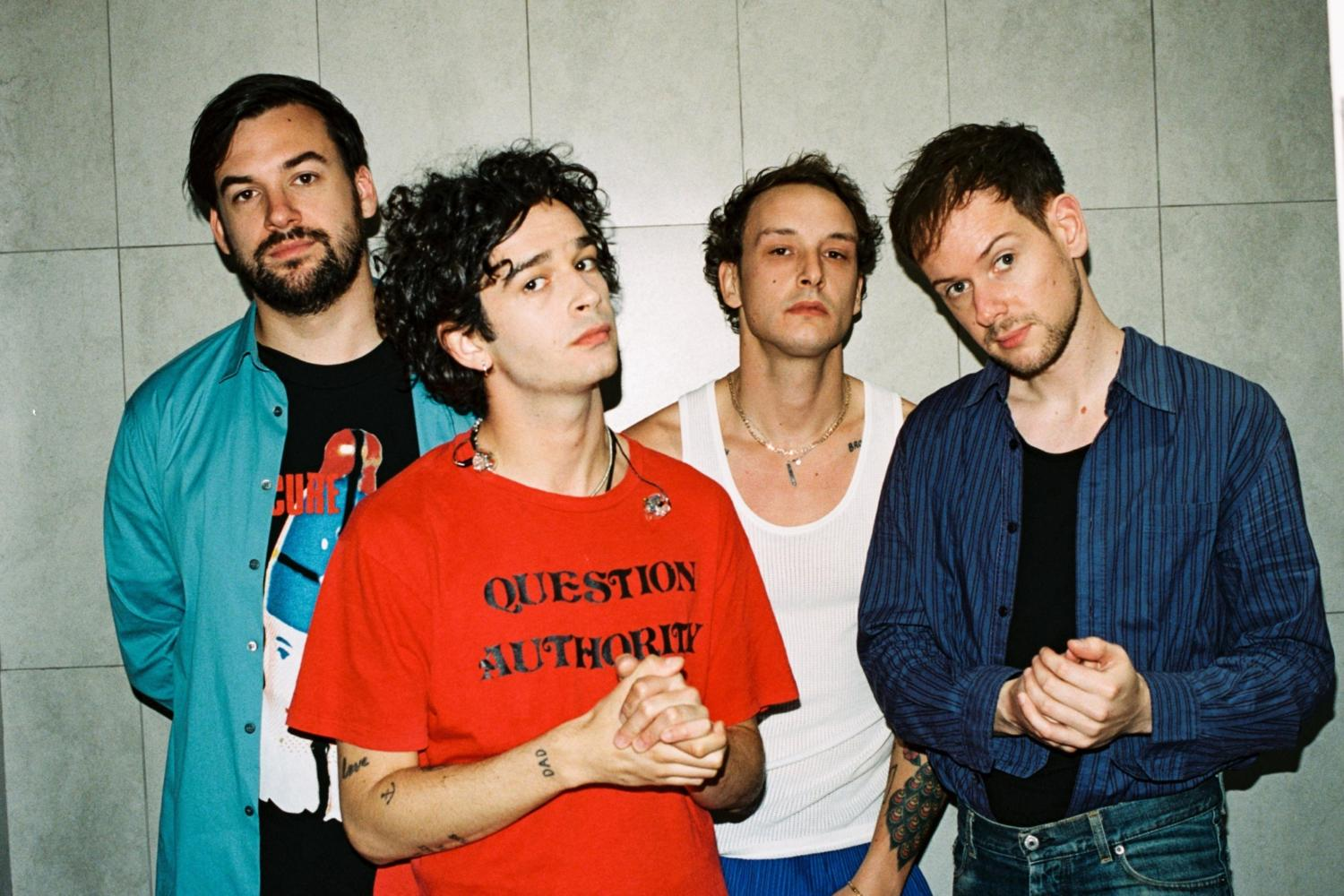 The 1975 release nostalgic 'Guys' video