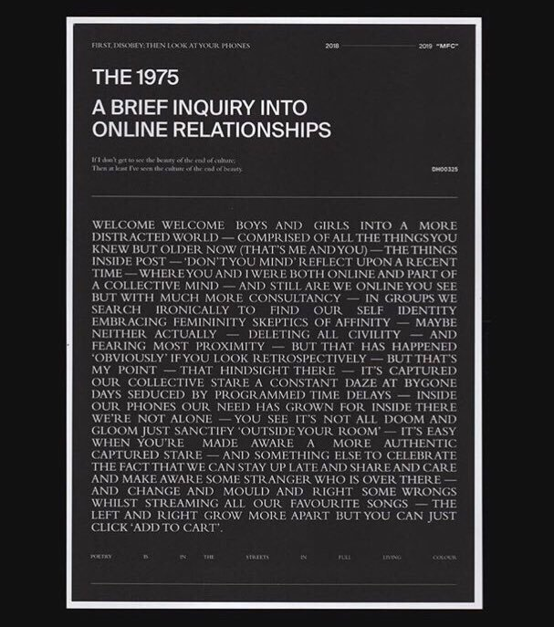 The 1975 have 'done a thing'