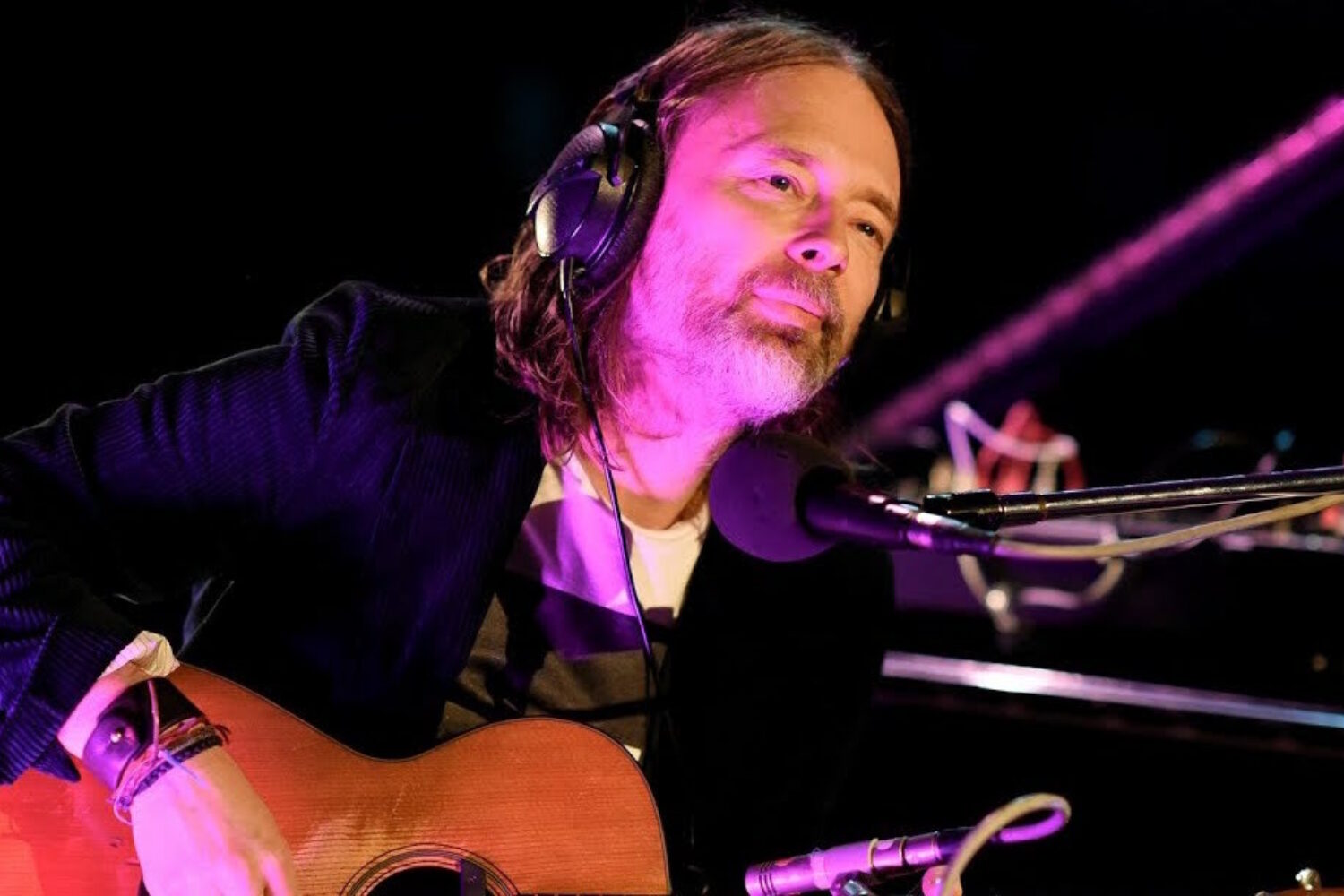 Thom Yorke debuts new song 'Plasticine Figures'