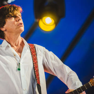 Thurston Moore brings sonic soundwaves to life at Latitude 2015