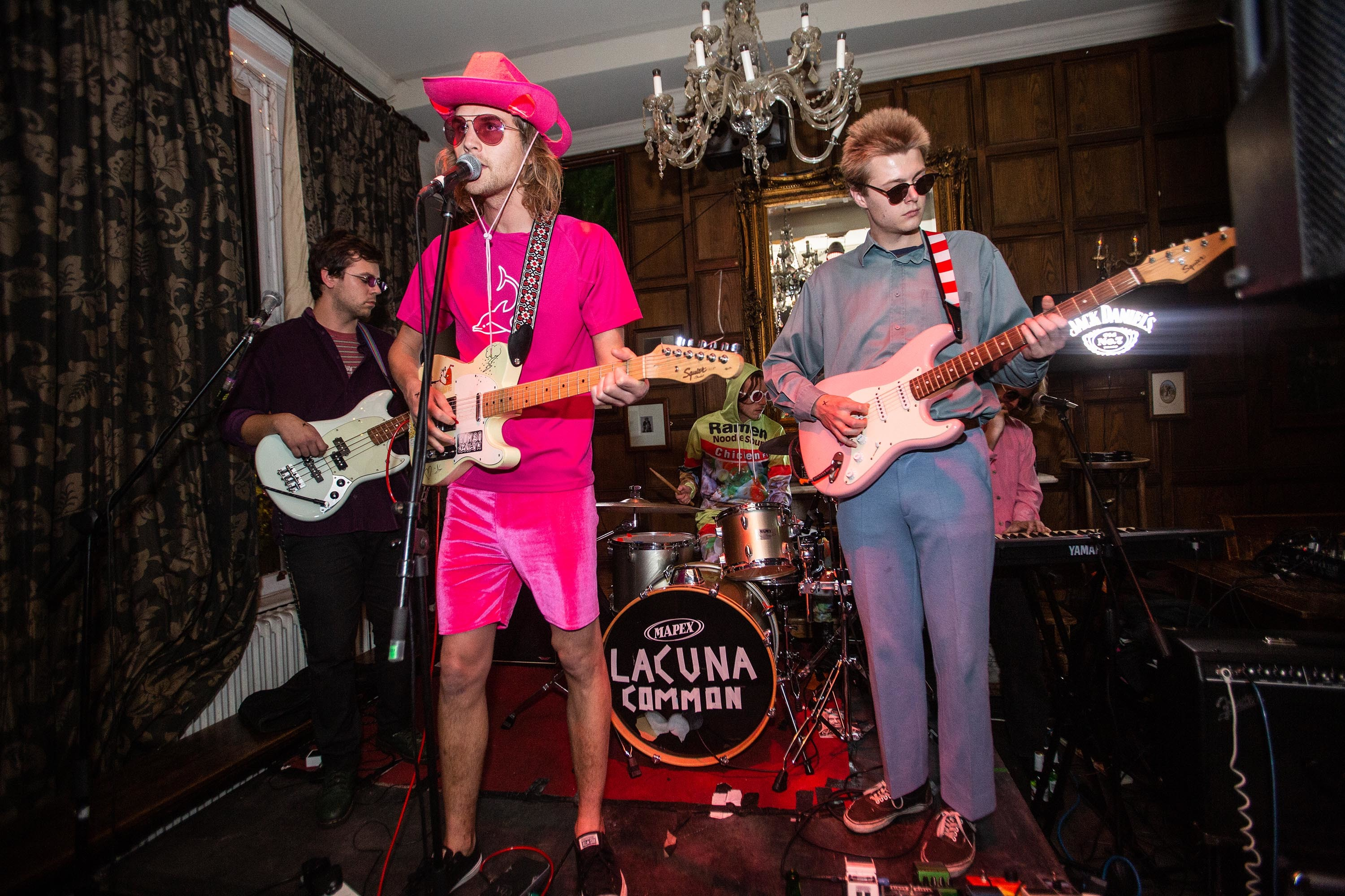 Lacuna Common, Crystal, Trudy and the Romance and Italia 90 deliver packed-out rooms on the DIY x Jack Daniel's Presents tour