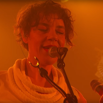 Watch Tune-Yards play two tracks on Kimmel
