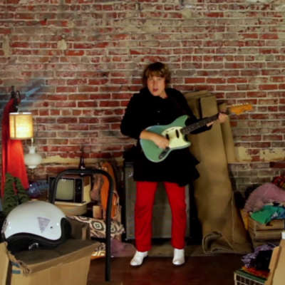 Ty Segall creates a haunted house for his 'The Singer' video