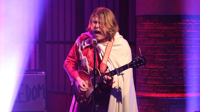 Watch Ty Segall perform 'Break A Guitar' on Seth Myers
