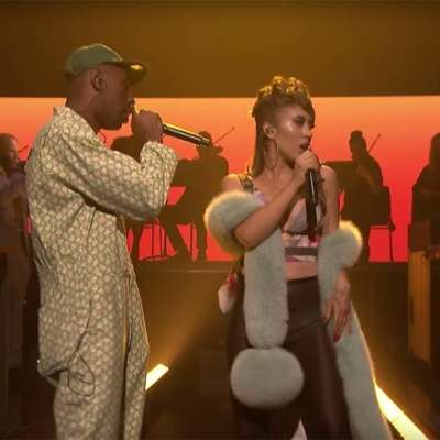 Watch Tyler, The Creator play 'See You Again' on Fallon