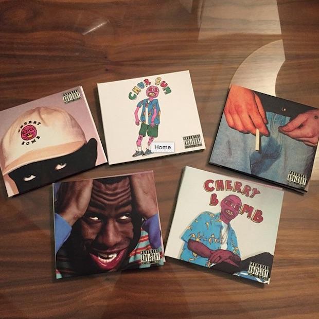 Tyler, the Creator wanted to get Jamiroquai on his album, shares alternative 'Cherry Bomb' art