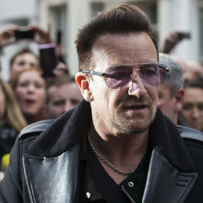 Bono claims comedians could help win the fight against the Islamic State