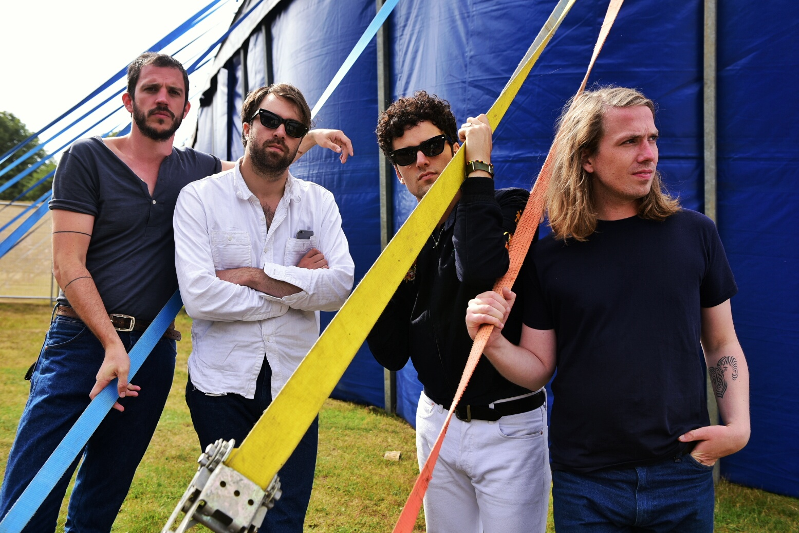 """The Vaccines talk Latitude 2015: """"I hope it's going to be bedlam"""""""