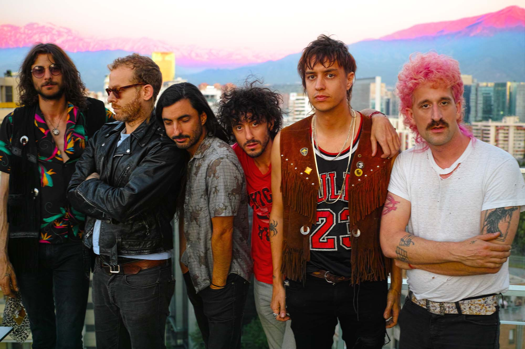 Watch The Voidz play 'QYURRYUS' on Corden