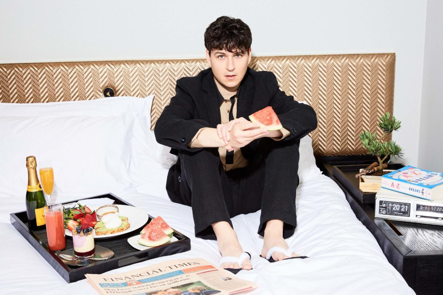 Interview with a Vampire: Ezra Koenig talks the rebirth of Vampire Weekend on the cover of the June issue of DIY