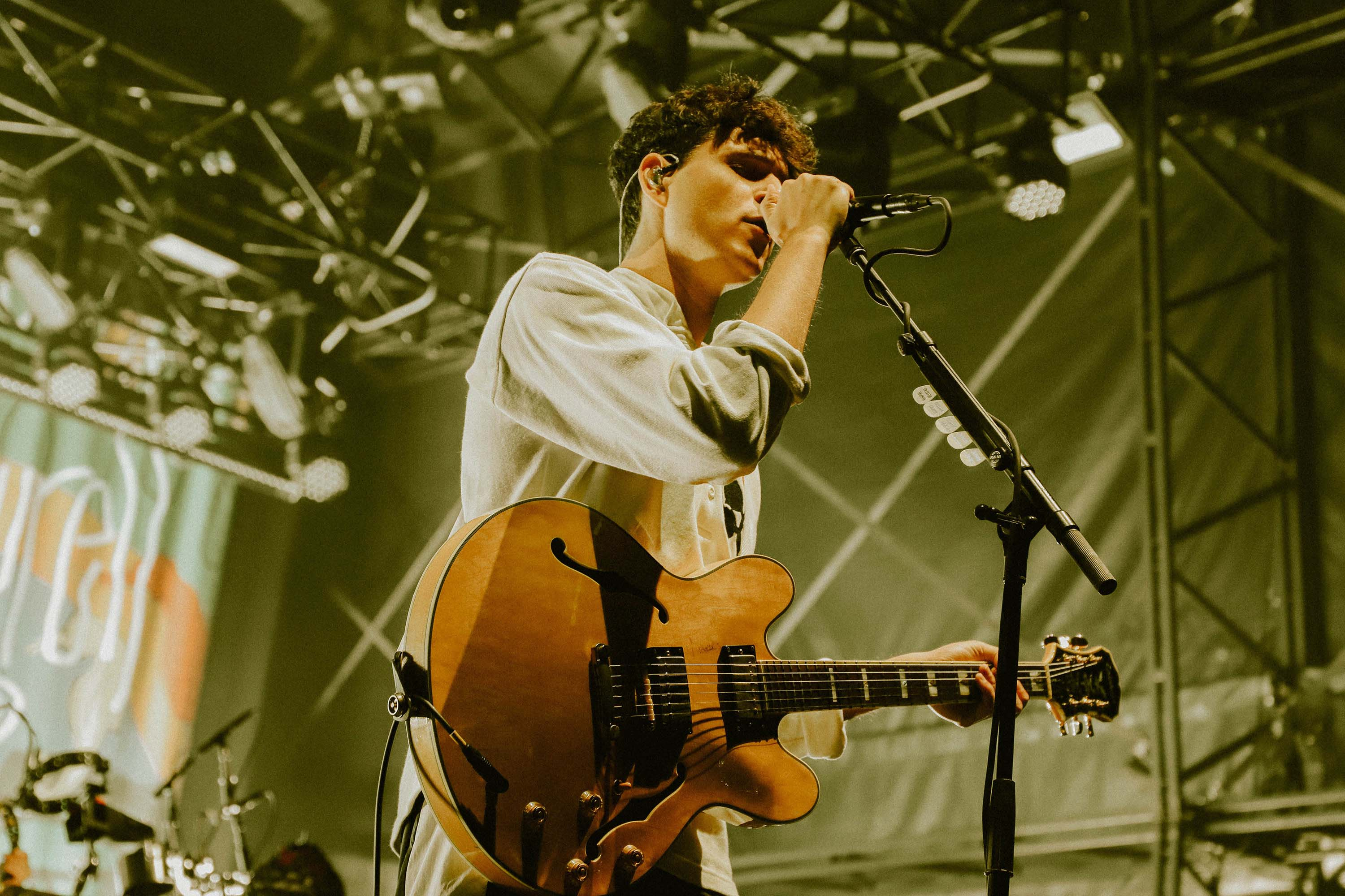 Vampire Weekend confirm new album is done during triumphant UK return at End of the Road