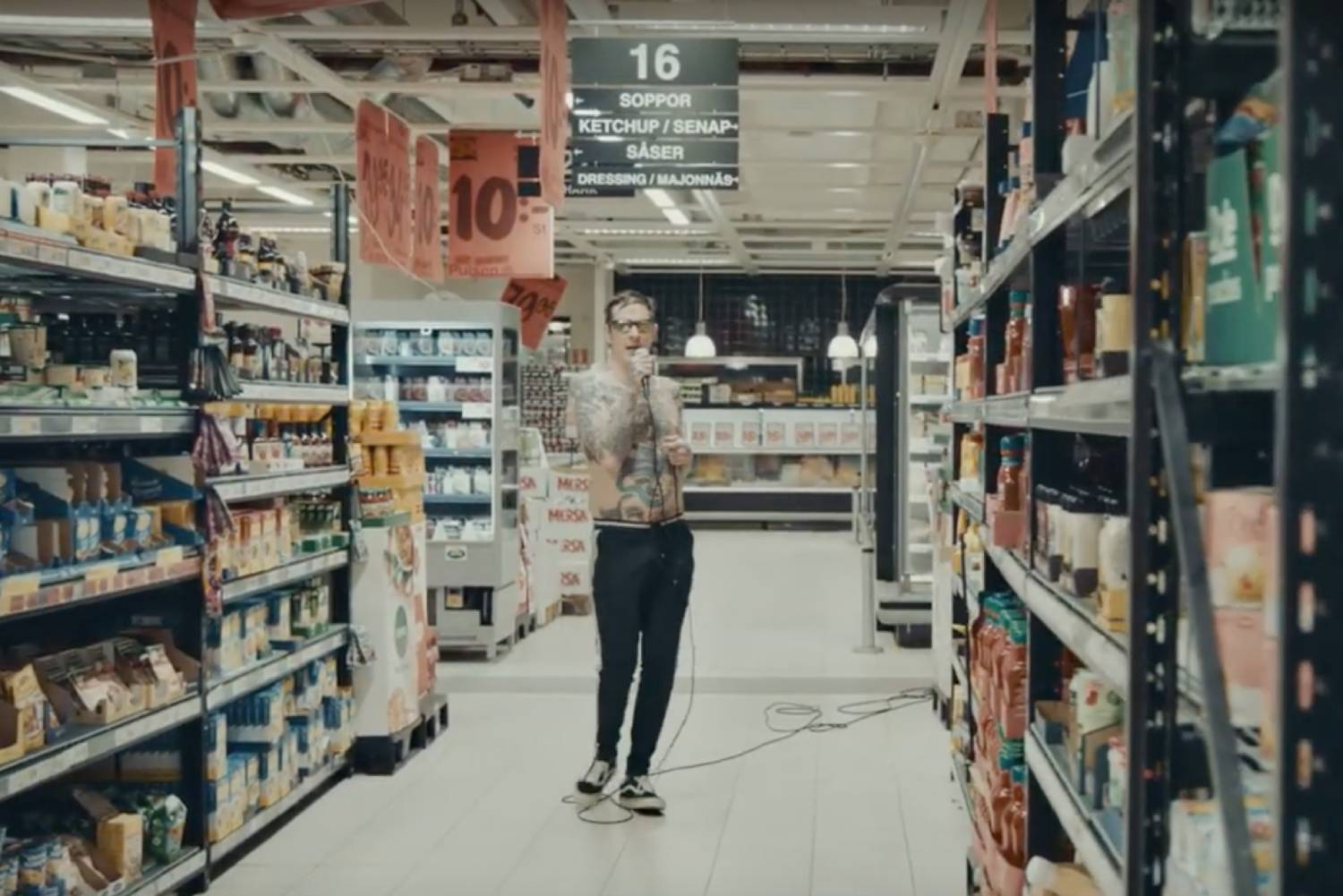 Viagra Boys head to the supermarket in new video for 'Just Like You'