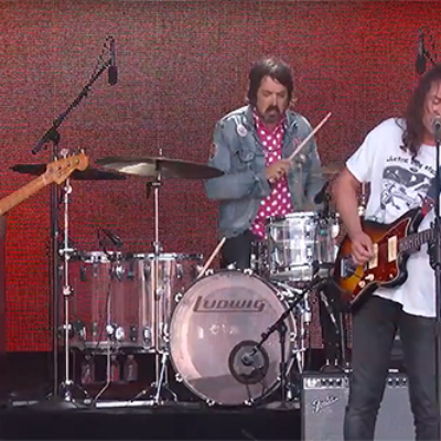 Watch The War On Drugs play 'Pain' on Kimmel