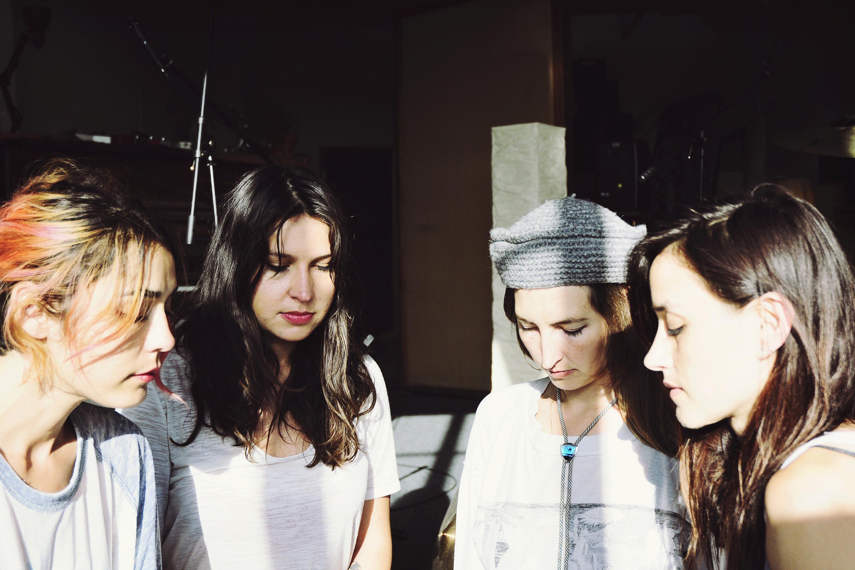In the studio: Warpaint