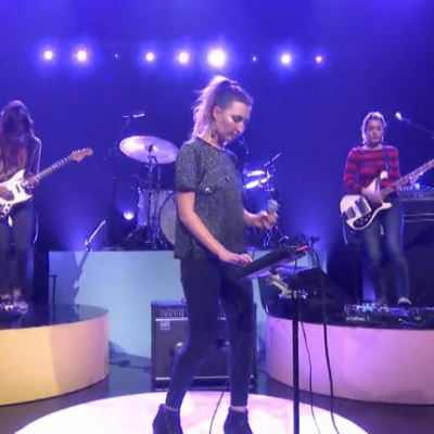 Warpaint take 'New Song' to Fallon