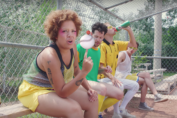 Weaves get sporty in their 'Slicked' video