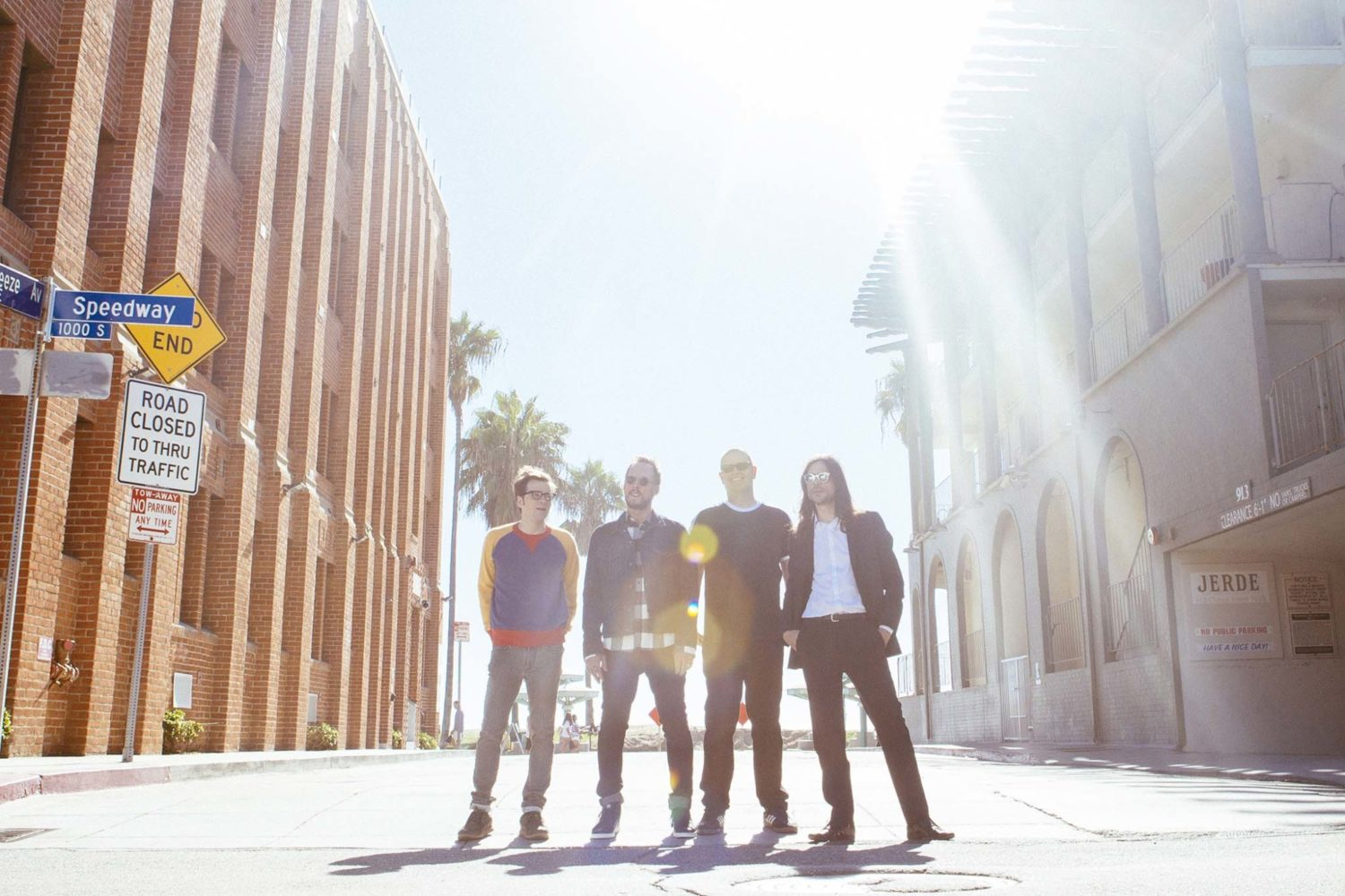 """Weezer are already working on new material: """"I'm thinking of swearing"""""""