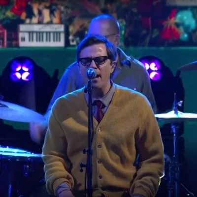 Watch Weezer play 'Happy Hour' on Colbert