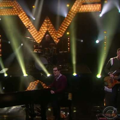 Watch Weezer play 'Happy Hour' on Corden