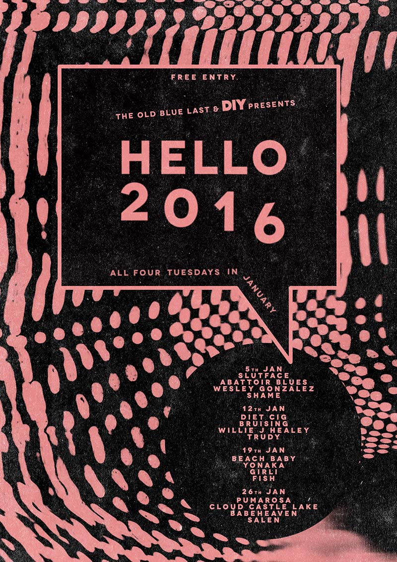 Wesley Gonzalez, Shame, Fish added to Hello 2016