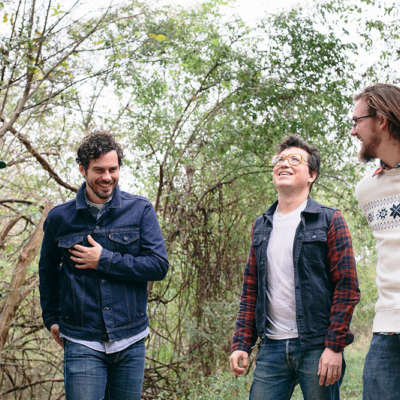You can only hear White Denim's new song if it's raining