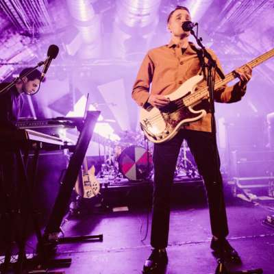 Wild Beasts talk 'Soft Future' show, with Evian Christ and East India Youth