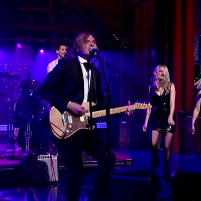 Watch Will Butler make solo television debut with 'Take My Side' on Letterman