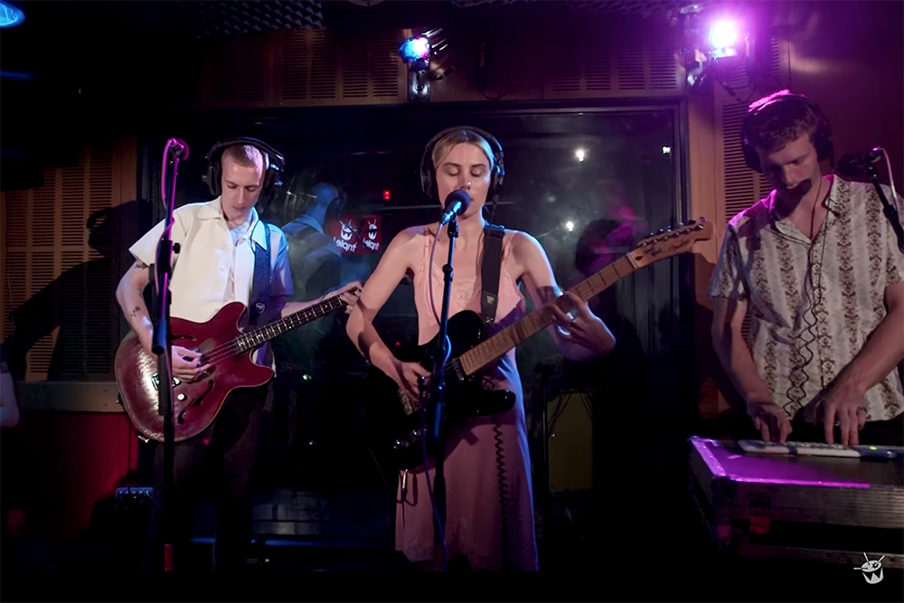 Watch Wolf Alice mash up Charli XCX's 'Boys' and The Cure's 'Boys Don't Cry' for triple j