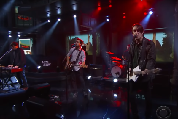 Watch Wolf Parade play 'Valley Boy' on Colbert