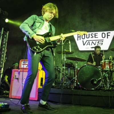 Riffs and singalongs dominate The Xcerts' House of Vans set at Bestival 2018