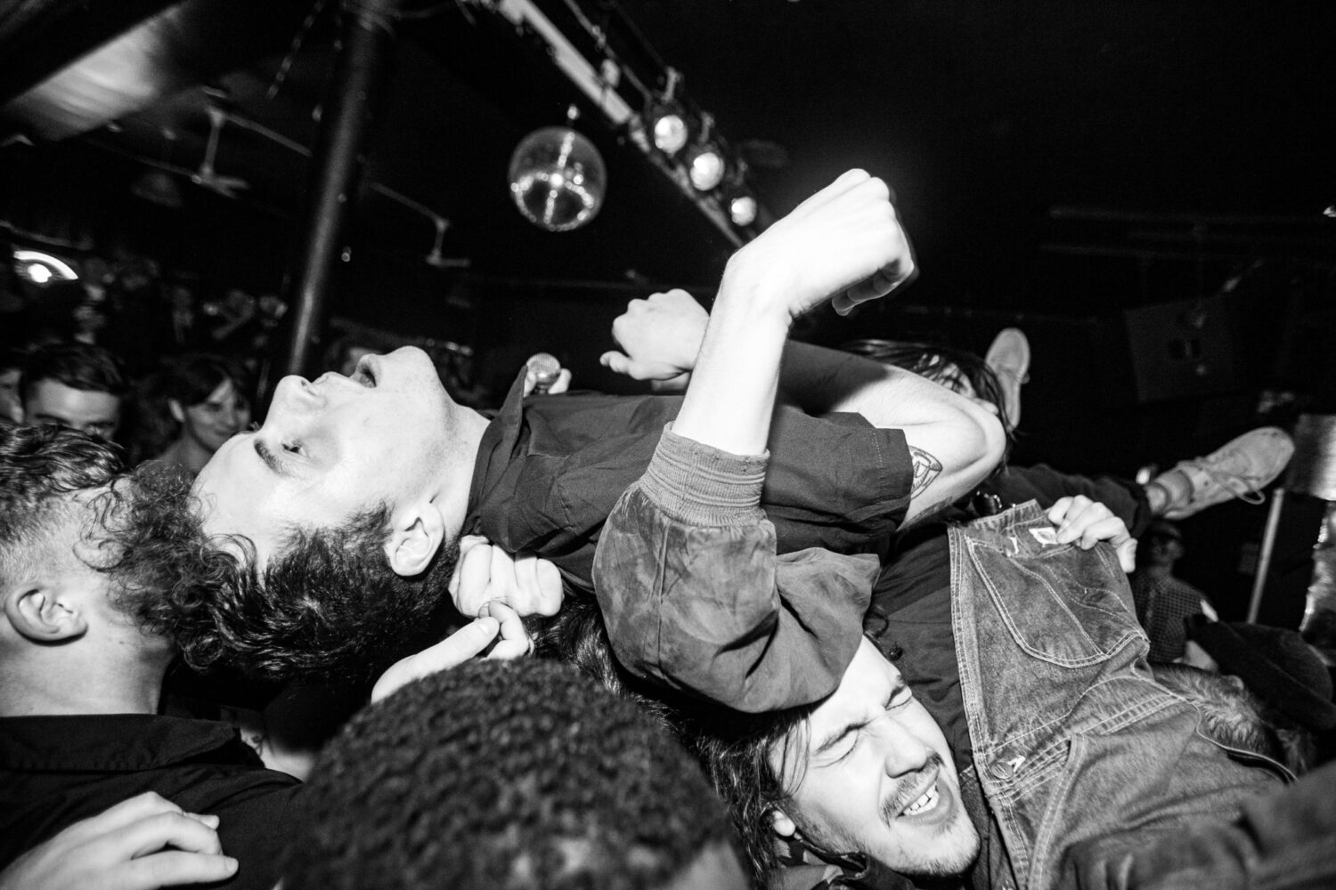 Crowdsurfers, mosh pits and general carnage are the order of the day at Yowl's celebratory Jäger Curtain Call headline show