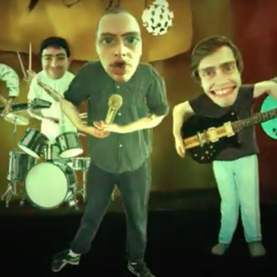 Yowl put on a trippy puppet show in the video for 'Sunken Boy'