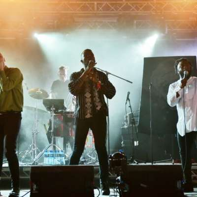 Young Fathers give a lesson in command at Latitude 2015