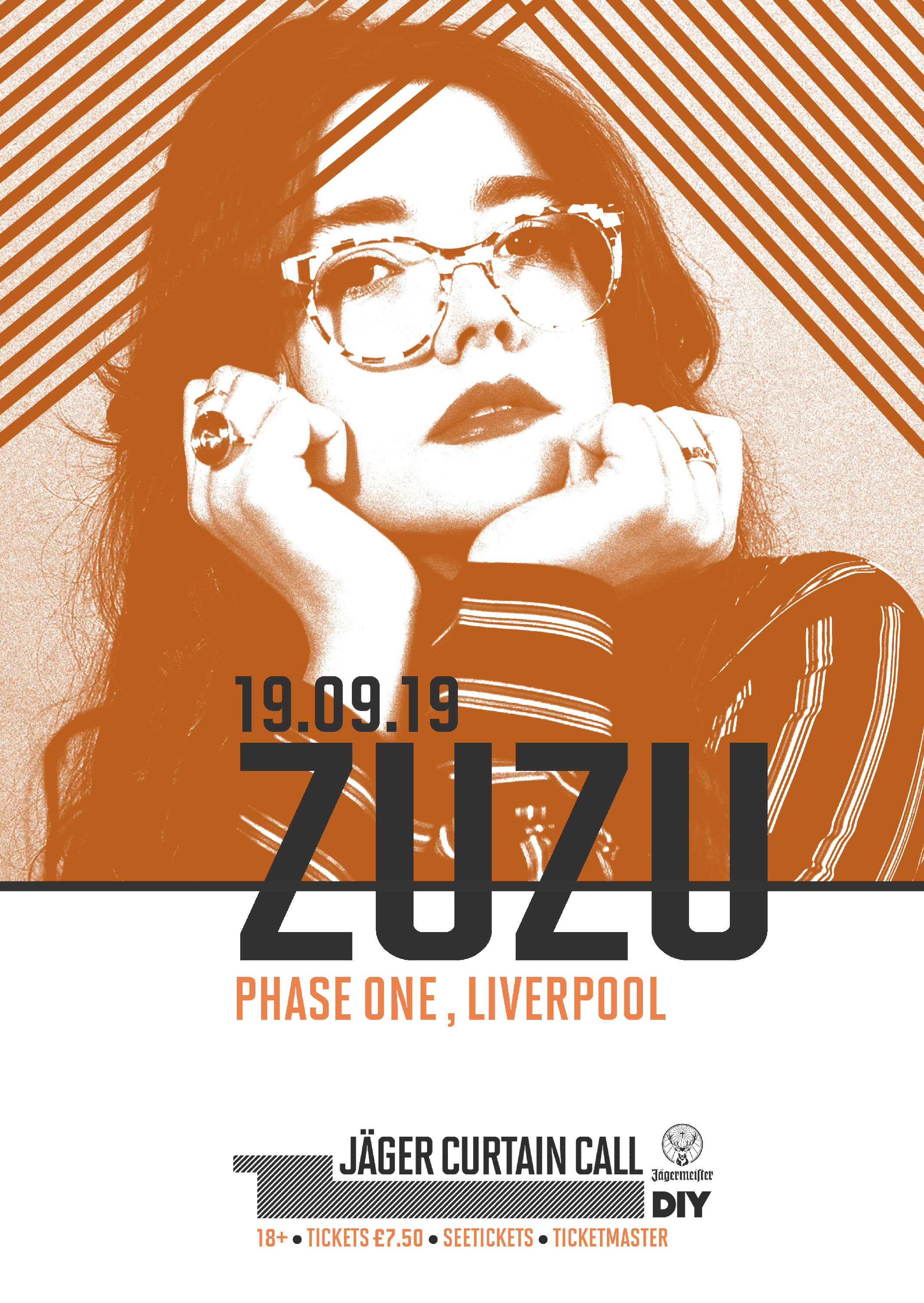 BTS: Zuzu plays Soho Radio for Jäger Curtain Call 2019