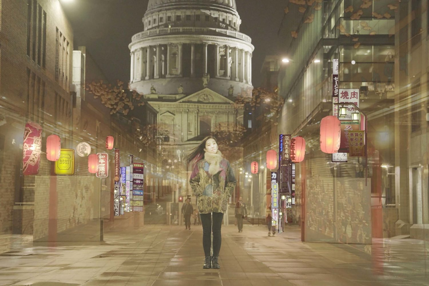 Rié gets artistic in the video for 'Business Trips'
