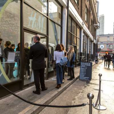 Full report: H&M takes over East London with DIVIDED Autumn / Winter collection