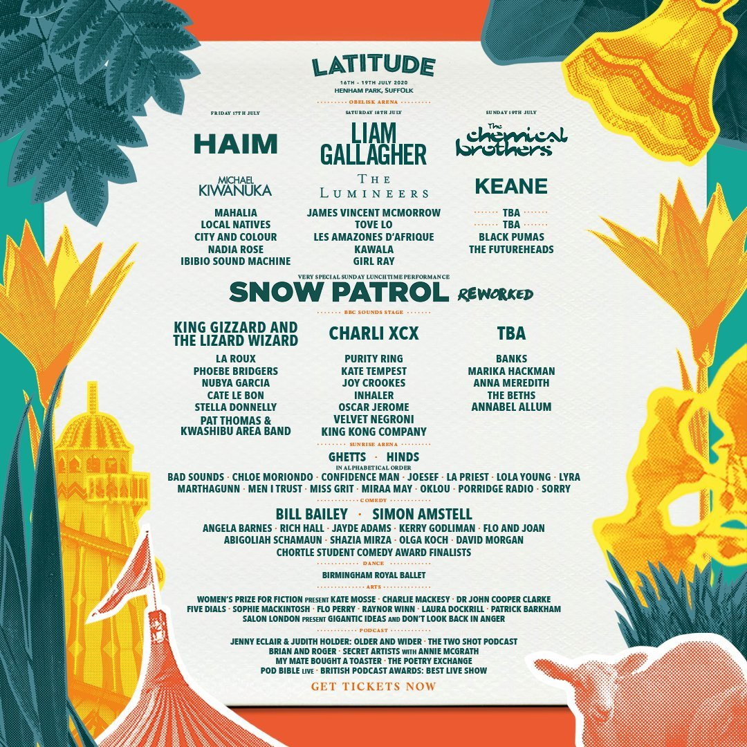 King Gizzard and The Lizard Wizard, Mahalia, Sorry and more join Latitude 2020 lineup