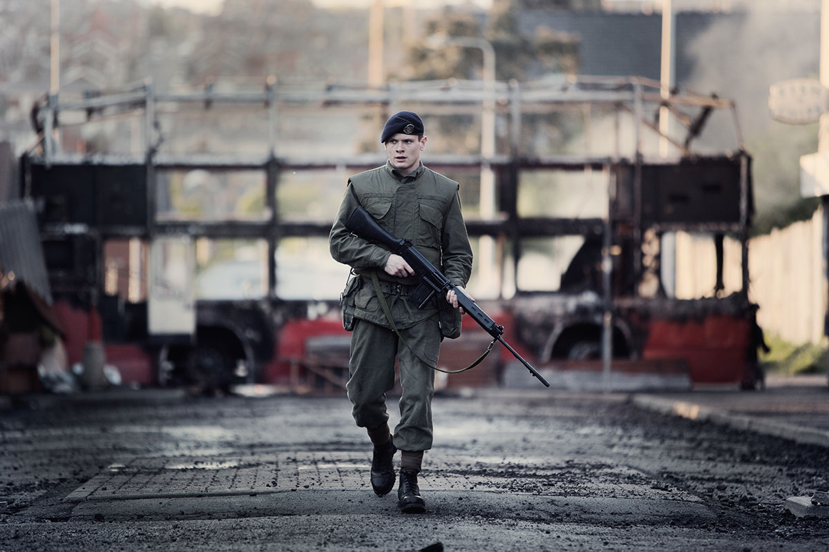 First clip released from upcoming thriller, '71